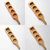 Wholesale cake biscuit pastry resale online - Biscuit Chocolate Mould Wooden Moon Cake Mold DIY Pastry Baking Decorating Tool Many Styles gl C R