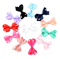 Wholesale cheerleader hair for sale - HOT SALE JoJo Siwa Kids Girls Teens inch Pure Color Bow Hair Flash Sparkle Hair Bow Dance Hair Bows Cheerleader Bow