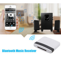 Wholesale audio dock bluetooth adapter for sale - Group buy NOYOKERE hot sale Bluetooth A2DP Pin Music Receiver Audio Adapter Dock for iPad iPod iPhone