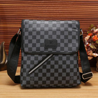 Wholesale mens outdoor shoulder bags resale online - 2018 Fashion Brand Mens Small Canvas Messanger Bags Crossbody Shoulder Bags for Men Business Outdoor Casual Traver Small Handbags Purse
