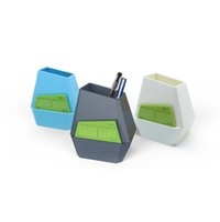 ingrosso calendari di plastica-Unico portapenne con design geometrico Rock con calendario stampato in plastica Calendario da tavolo universale per Home Office