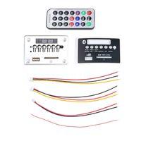 Wholesale Reader Boards - Kebidu Car USB MP3 Player Integrated Bluetooth Hands-free MP3 Decoder Board Module Remote Control USB FM ForAux Radio for Car