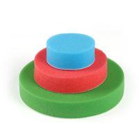 Wholesale polisher kit pads online - 5Pcs New Car Polisher Pad Practical Car Polishing Foam Buffing Sponge Pad Kit for Car Polisher quot