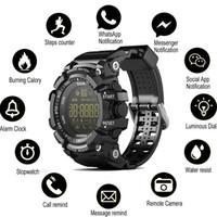 ingrosso smartfoatch di lemfo-SOVO SG10 Bluetooth orologio EX16 intelligente orologio da polso di notifica remota degli uomini impermeabili di controllo Contapassi Sport Watch IP67