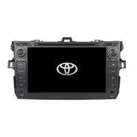 Wholesale toyota corolla steering wheel - 8inch Andriod 6.0 Octa core Car DVD player for Toyota COROLLA 2006-2011 with 4GB RAM,32GB ROM, GPS,Steering Wheel Control,Bluetooth