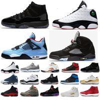 433284034e79 Nike air retro air jordan Haute qualité 4 4s XII octobre ovo Drake blanc  noir athlétisme formateurs femmes chaussures de basket-ball us5.5-us13