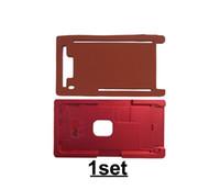 ingrosso pastiglie in alluminio-Stampo in alluminio di precisione per iPhone 8 Plus Laminator Stampo in metallo + pad in gomma per Cold Press Front Glass con telaio allineato