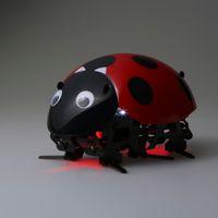 insetos robôs venda por atacado-Brinquedos Robô inteligente Educacional Engraçado DIY Brinquedo Inseto Controle Remoto Sem Fio RC Veículos Rastreadores de Carro