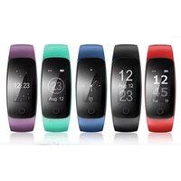 отслеживание gps браслетов оптовых-Оригинальный ID107Plus HR сердечного ритма Смарт-браслет Монитор ID107 Plus Браслет Здоровье Фитнес-Отслеживание Для Android iOS Смарт-Часы