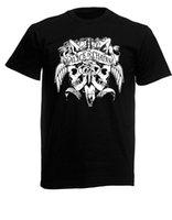 cadeias de alice venda por atacado-Alice In Chains Banda Mens Black Rock T-shirt NOVOS Tamanhos S-XXXL