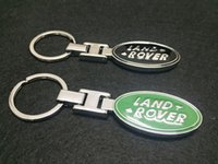 Wholesale Discovery Land - Solid Alloy Metal Key Chain Keyring Keychain Key Ring Suit For Land Rover Defender Discovery Freelander LR