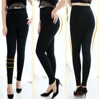 6d967d172 Plus Size Leggings For Women Fleece Thick Winter Warm High Stretch Waist  Legging Skinny Pants Strechy 200 Pounds Wear Pantyhose