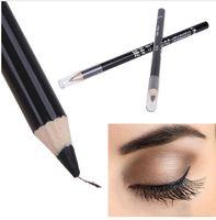 ingrosso migliore qualità eyeliner-Alta qualità Black Eye Liner Smooth Waterproof Cosmetic Makeup Eyeliner Matita eyeliner di migliore qualità per occhi permanente