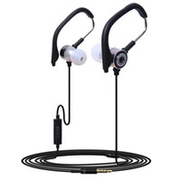 Wholesale w sport mp3 resale online - 2019 Portable Handfree mm In Ear Clip On Sport W Mic Stereo Sports Jogging Music Earphone Earbud For Phone PC Mp3 Universal