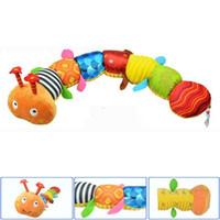 bebek müzik bezi toptan satış-5 ADET Tavsiye Bez çok fonksiyonlu eğitici çocuk oyuncakları Bebek müzik için el kuklaları çıngıraklar çocuklar