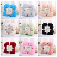 Wholesale twins sales online – Soft Blankets Autumn Winter Keep Warm Plush Throw Blanket Bedding Supplies Home Decor Multi Color Hot Sale by C