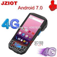 wifi kamera scanner großhandel-WIFI 3G Kamera Barcode-Scanner NFC-Handlogistik Android PDA