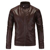 ingrosso giacche moto nero marrone-Giacche in pelle da uomo Giacche da moto e giacche da uomo in pelle nera marrone Giacche da moto da uomo