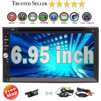 Wholesale wireless dvd player mp3 online - Car Deck Audio Headunit Wireless Rearview Camera quot Din in Dash Car DVD Player DVD CD MP3 MP4 USB SD Radio BT Stereo