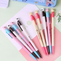 Wholesale kawaii pencil mechanical - 0.7mm 20PCS Kawaii Automatic Pencil Mechanical Pencils for Writing School Supplies Accessories Stationery
