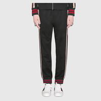 черные шорты оптовых-18SS GUI бег трусцой брюки мода улица повседневная открытый спорт свободные брюки баскетбол прилив тренировочные брюки Брюки Hflskz068
