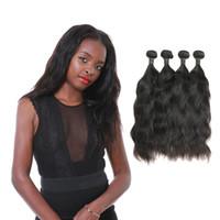 ingrosso prodotti per capelli cinesi naturali-Brasiliana naturale onda cinese vergine di estensione dei capelli di alta qualità 4 pacchi la produzione di prodotti di capelli laflare direttamente fornitura