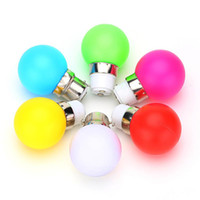 Wholesale Blue Night Light Bulbs - G45 LED Light B22 1W Energy Saving Mini Bulb Lamp 110-220V Night Light Decoration White Red Blue Green Yellow Pink 10pcs lot
