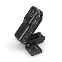 bebek kaydedici toptan satış-MD80 Sürüş Ev Bebek Kaydedici Destek Net-Kamera Mini DV Kayıt Kamera Desteği 8G TF Kart 720 * 480 Vedio Kalıcı Kayıt