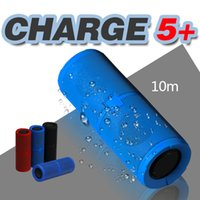 Wholesale Mobile Streaming Music - Wireless bluetooth speaker CHARGE 5+ splashproof streaming mini speakers built-in 1200 mAh rechargable powerbank music player bet CHARGE3