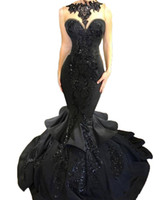 Wholesale gray special occasion dresses for sale - 2018 Hot sale Custom Made Women s Sexy Prom Dresses Beaded Evening Gowns Mermaid Special Occasion Dresses