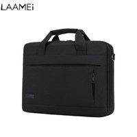 macbook orange großhandel-Laamei Laptop Handtasche Für Männer Frauen Aktentasche Reisetasche Bussiness Notebooktasche Macbook Pro Dell PC Große Kapazität