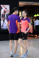 mulheres jersey china venda por atacado-Nova Li-Ning camisa de tênis de mesa Homens / Mulheres, Zhang JiKe Camisola tshirt de ping-pong China uniformes de equipe de tênis de mesa, badminton camisetas 36139