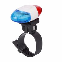 Wholesale police red blue lamp for sale - Super Bike Light Waterproof Police LED Red Blue Flash Modes Cycling Rear Light Safety Warning Tail Lamp Bicycle Lights
