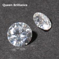 муассанит блестящий оптовых-Тест положительный выращенное в лаборатории Алмаз 4Carat БКМ 10мм круглый бриллиант не менее Спасибо Г-Н ВВС2 муассанит камни высокого качества