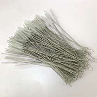 Wholesale wire cleaning brush - Straws cleaning brush stainless steel wire cleaning brush feeding bottle
