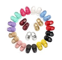 Wholesale Girls Sandals Size 12 - Soft PU Leather Boys Girls Shoes Beach Sandals Baby Girl Summer Toddler Shoes Slip-resistant Sandals baby Moccasins Bebes