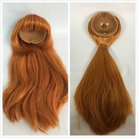 Wholesale Wig Chocolate - Blyth doll scalp blyth dolls wigs(RBL) chocolate hair ,copper hair
