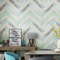 Wholesale wood contact paper - Mediterranean Blue Wall Papers Home Decor Nordic Living Room Decoration Wallpapers Roll for Walls Deco Mural Contact Paper