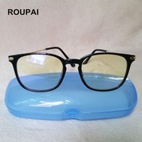 4b2d5427a4a ROUPAI Computer Glasses Anti blue light Reading eyeglasses Myopia Frame  Protection Gaming goggles for Men Women 5008