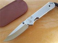 папка оптовых-Крис Рив CR классический большой Sebenza 21 нож D2 стальной клинок 59HRC простой клип точка EDC тактический нож титановый сплав папка с делом