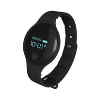 ingrosso i migliori telefoni d'orologio-Il braccialetto astuto di inseguitore di sonno del pedometro di polsini di Bluetooth intelligente H8 guarda la banda astuta per il migliore prezzo astuto del telefono Android di iOS