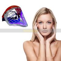 Wholesale latest masks resale online - Skin rejuvenation Latest Color In1 PDT LED Light Rejuvenation Facial Mask System CE Anti aging