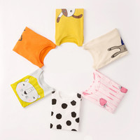 conjuntos térmicos para niños al por mayor-Conjuntos de pijamas para niños Cute Cartoon Lion Patrón de cordero Pijamas Niños ropa interior térmica Big Children Clothing Sets trajes de dormir