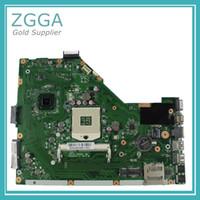 Wholesale Intel Asus Motherboard - Original For Asus X55A Intel Laptop Motherboard s989 HM70 Mainboard 60-NBHMB1100-E05
