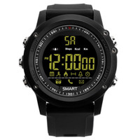 Wholesale smart bluetooth watches wristwatch resale online - EX17 Bluetooth Smart Watch Men s Outdoor Sports Waterproof Wristwatch For Android iOS with Retail Box
