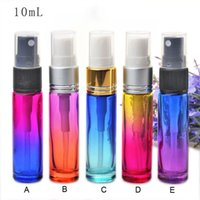 Wholesale Glasses Cleaner Spray - 10ml Glass Spray Bottles with Mist Sprayer Refillable Fragrance Perfume Empty Scent Bottle Clean Cloth for Travel Party Portable Makeup Too