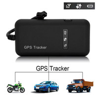 Wholesale car gps online - Car Motorcycle GPS tracker GT02D car start detection ACC OIL CUT function high speed platform Android IOS APP