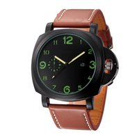 Wholesale cheap watches online - Luxury Mens Watch High Quality AAA Cheap Leather Strap Quartz Movement Calendar Time Clock Watch
