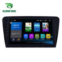 skoda octavia radio bluetooth al por mayor-Octa Core ISP + 2.5D 32G Android 7.1 Octa Core Car DVD Player GPS estéreo Navi para Skoda Octavia 2014 Radio Headunit WIFI Bluetooth
