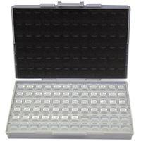 kits de condensadores al por mayor-AideTek SMT / SMD 0805 kit de condensador de tamaño con caja 50 v x 10 piezas caja de plástico lables C0810